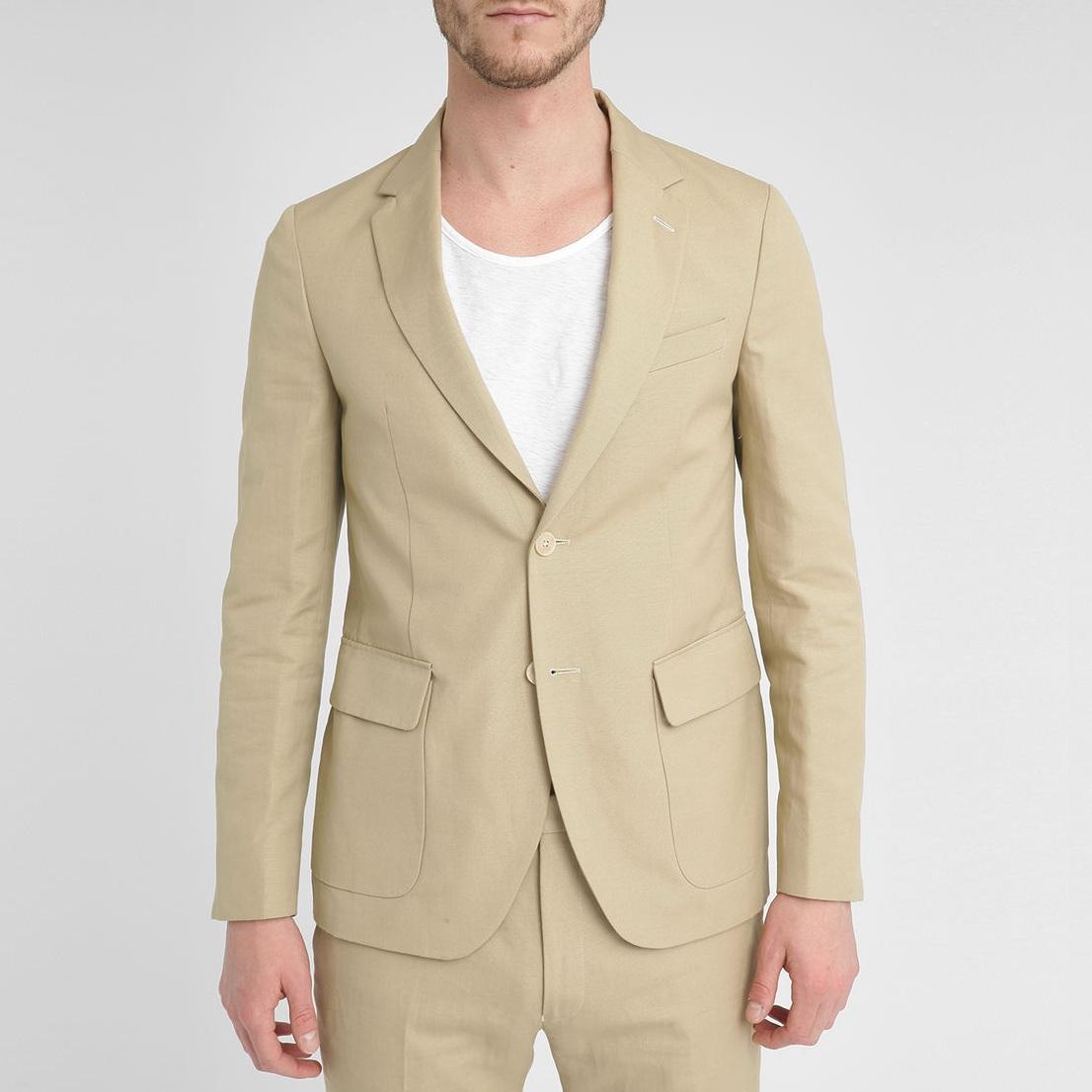 veste coton beige gant rugger homme