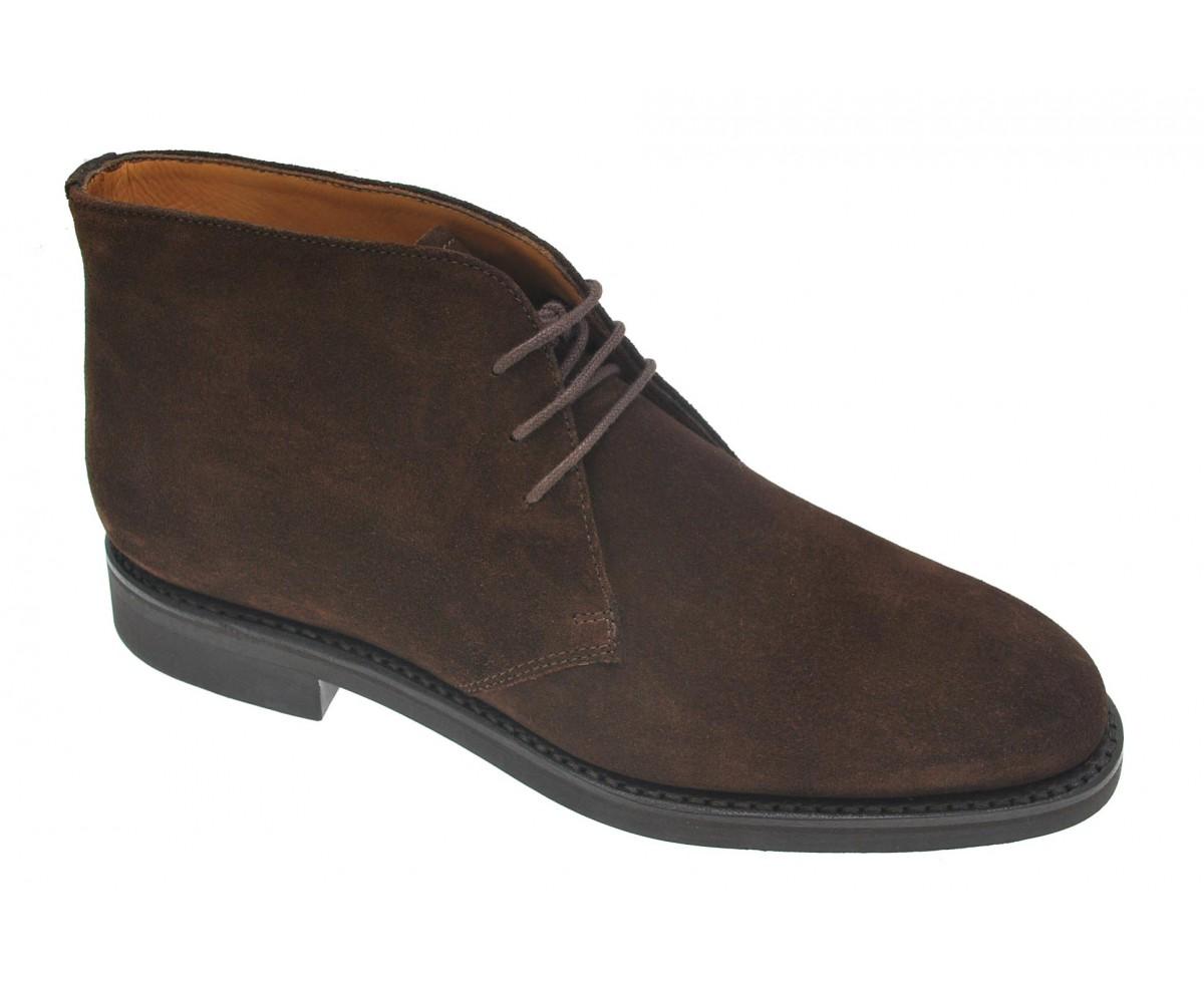 desert-boots-homme-velours-marron-caoutchouc