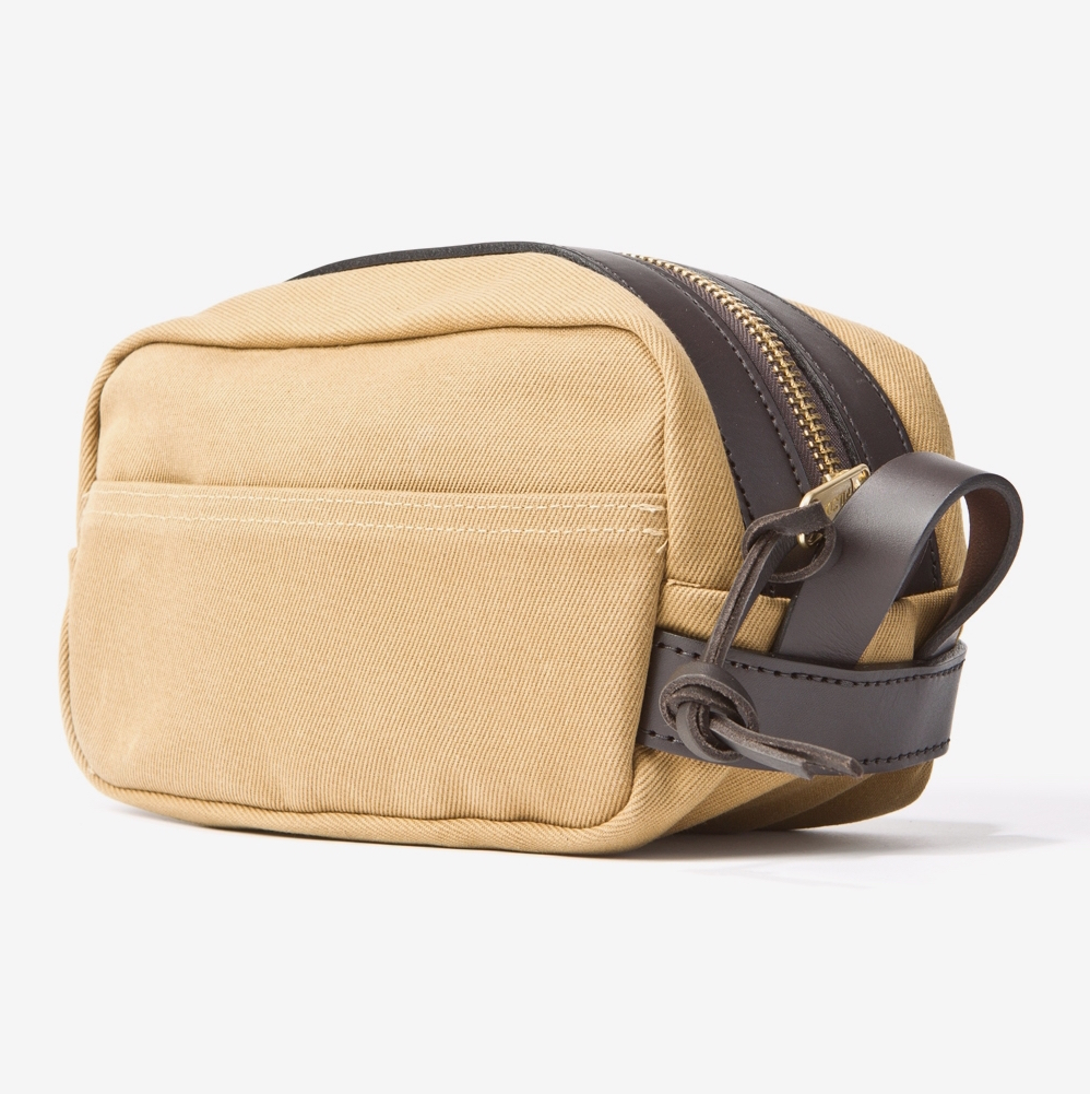 trousse de toilette filson tan