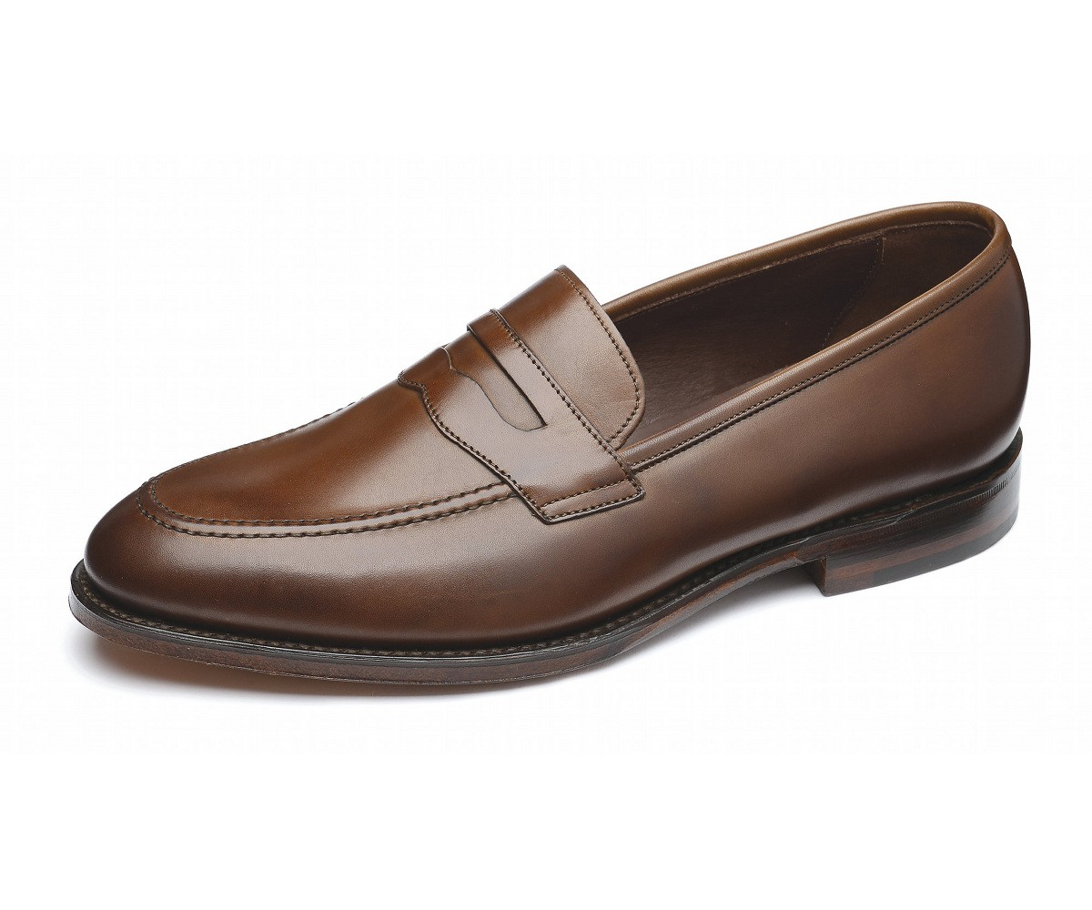 mocassin homme loake Whitehall Burnished Saddle Loafers