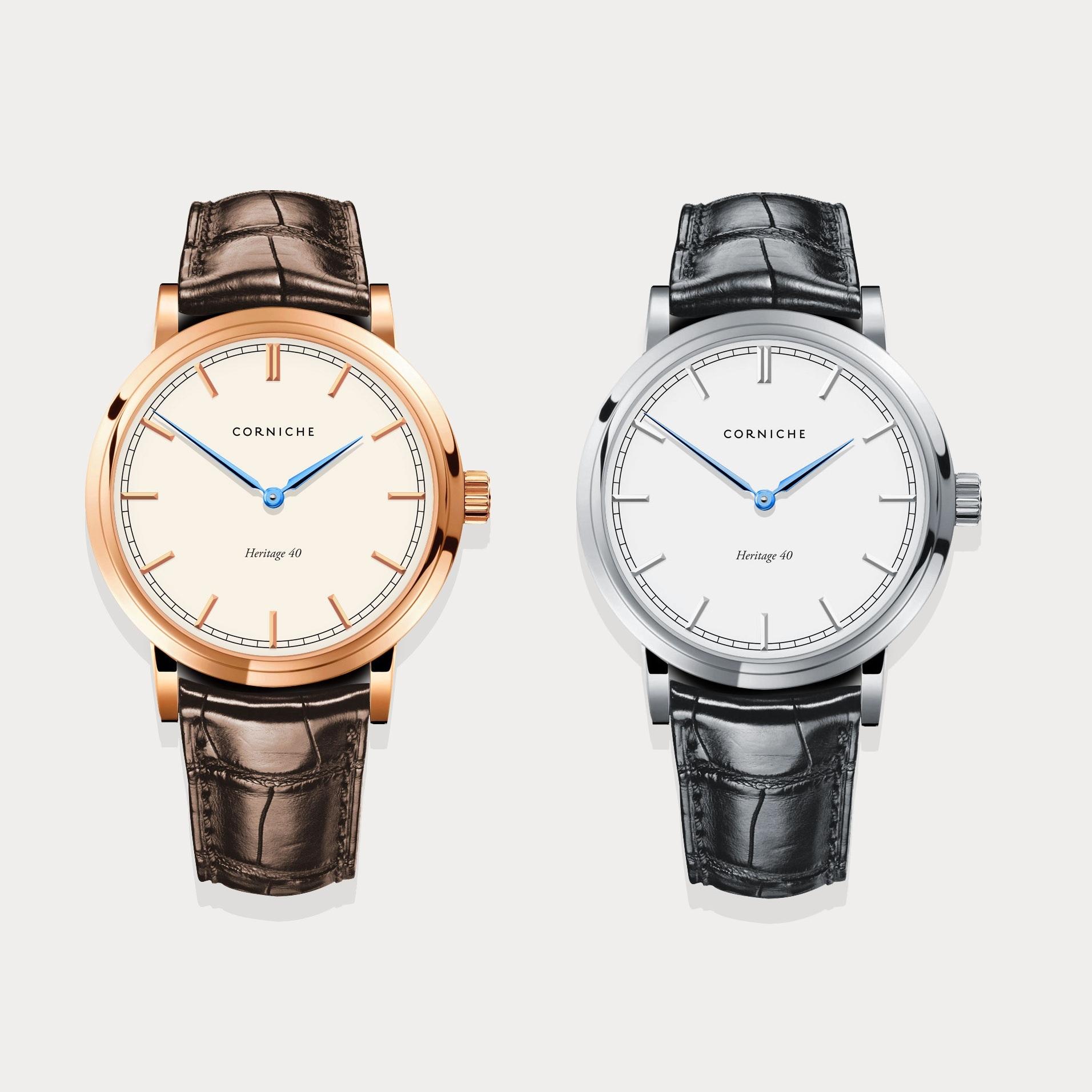 montre corniche watch heritage 40