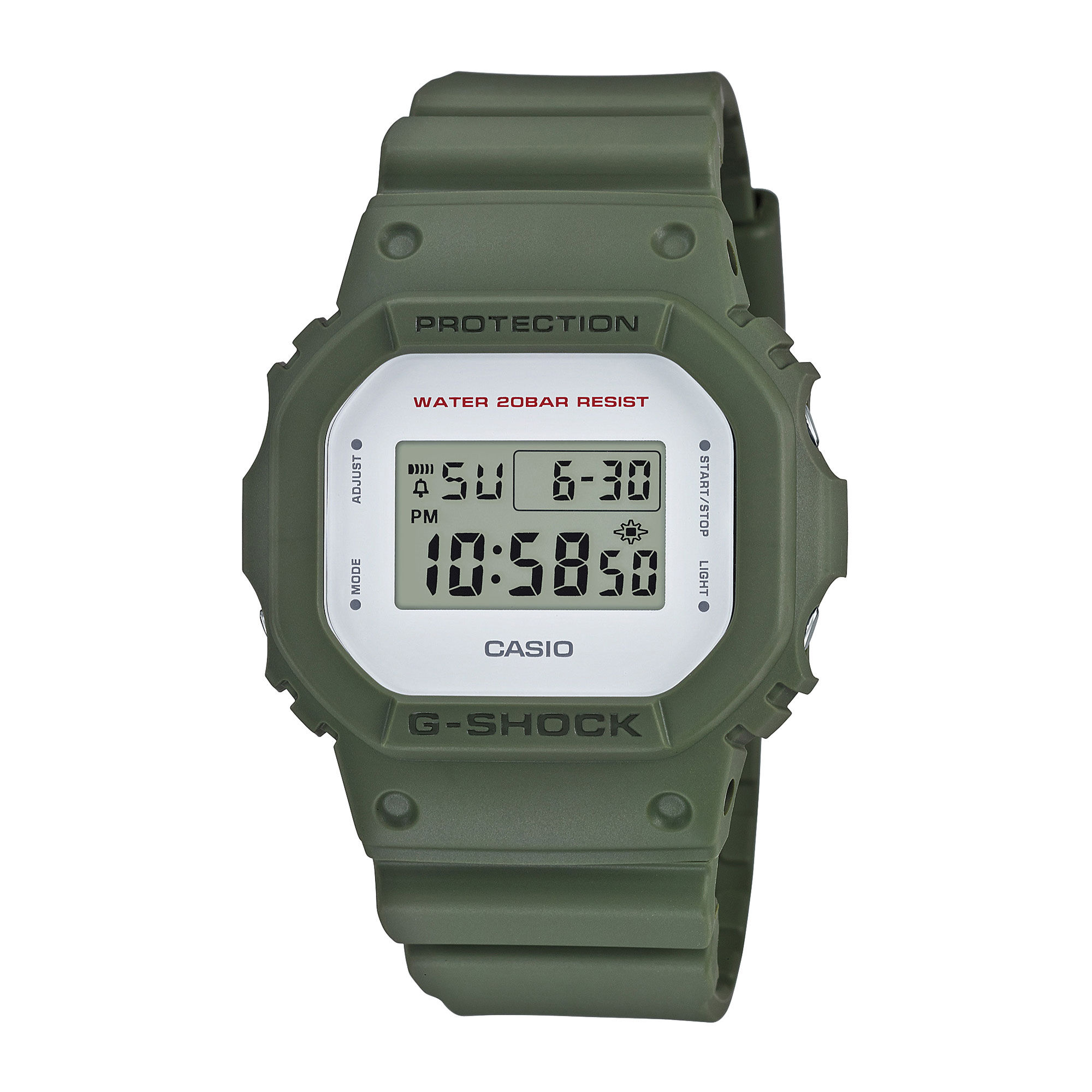 Casio G-Shock DW-5600M clean military