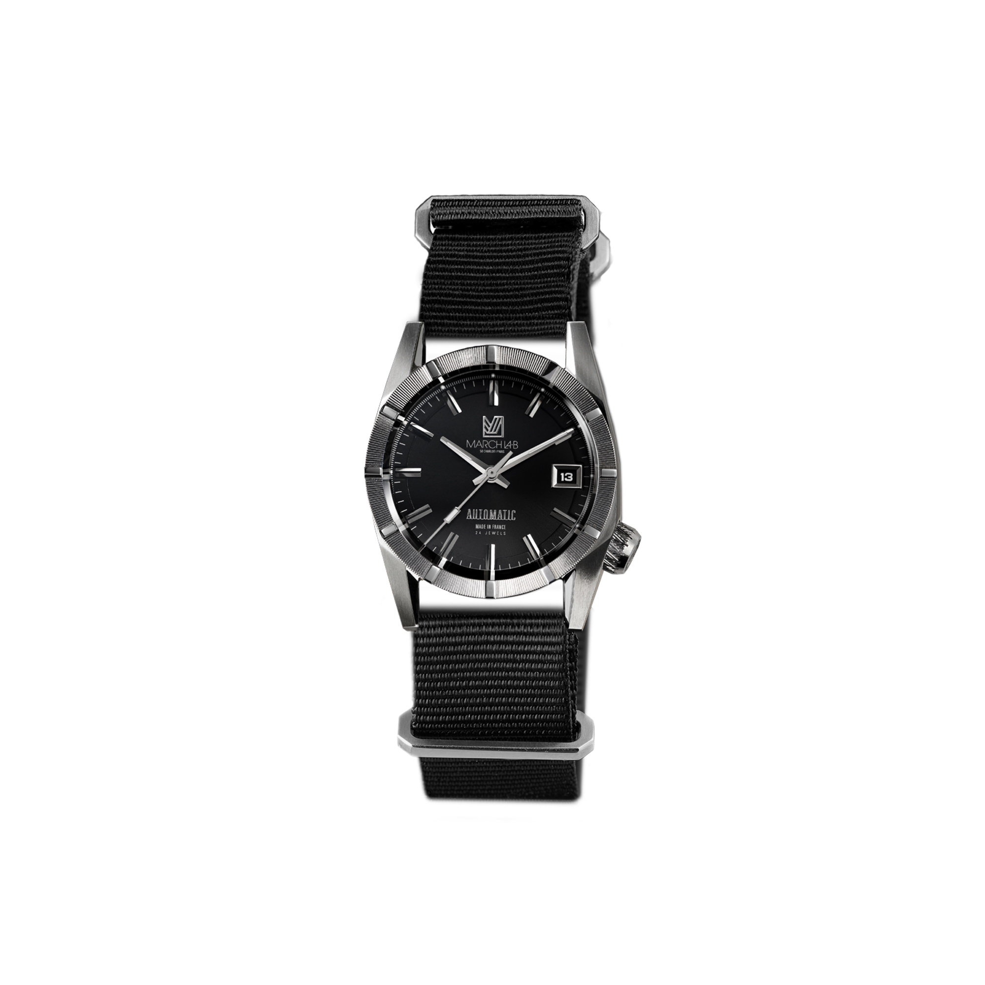 am59 automatique nato noir