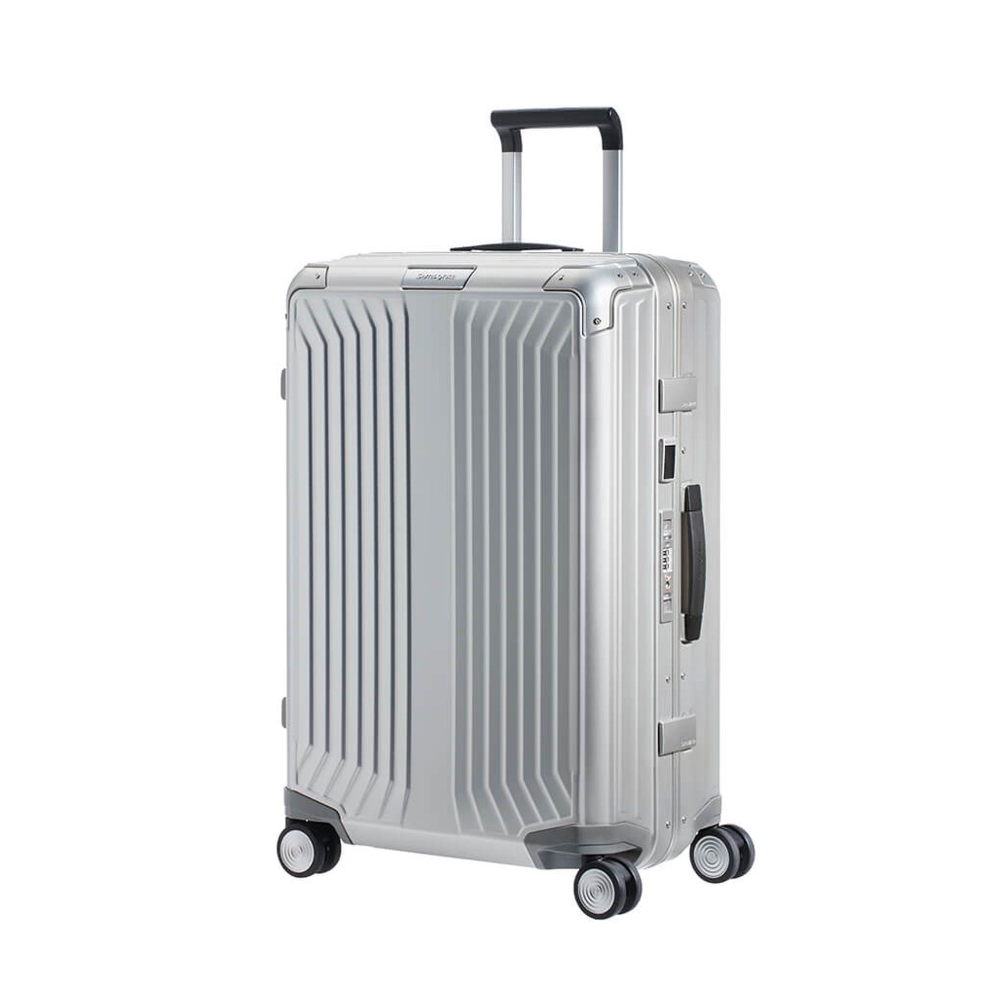 samsonite lite box alu valise 4 roues 69cm