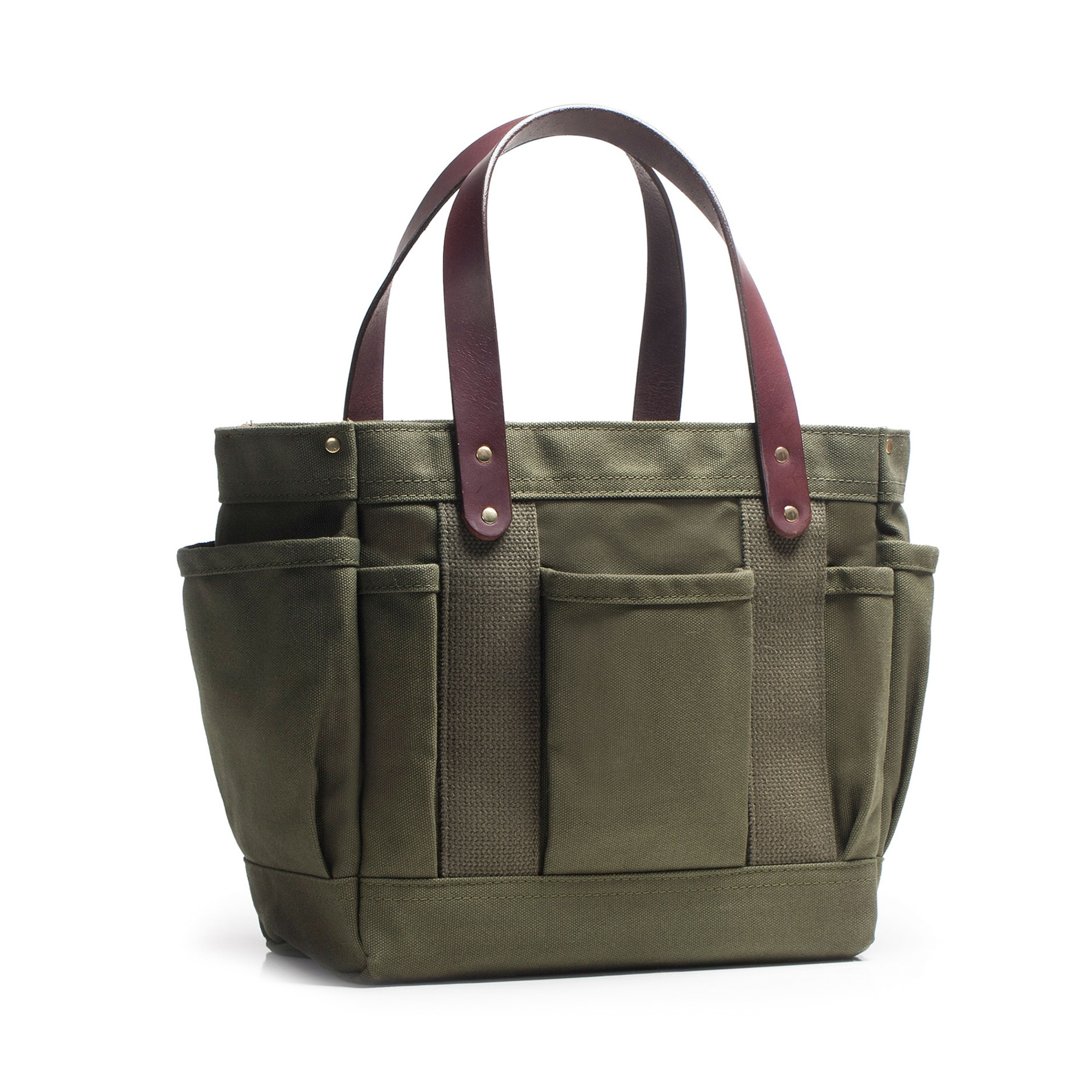 Parrot Canvas Rigger s Tote - Dyed Canvas