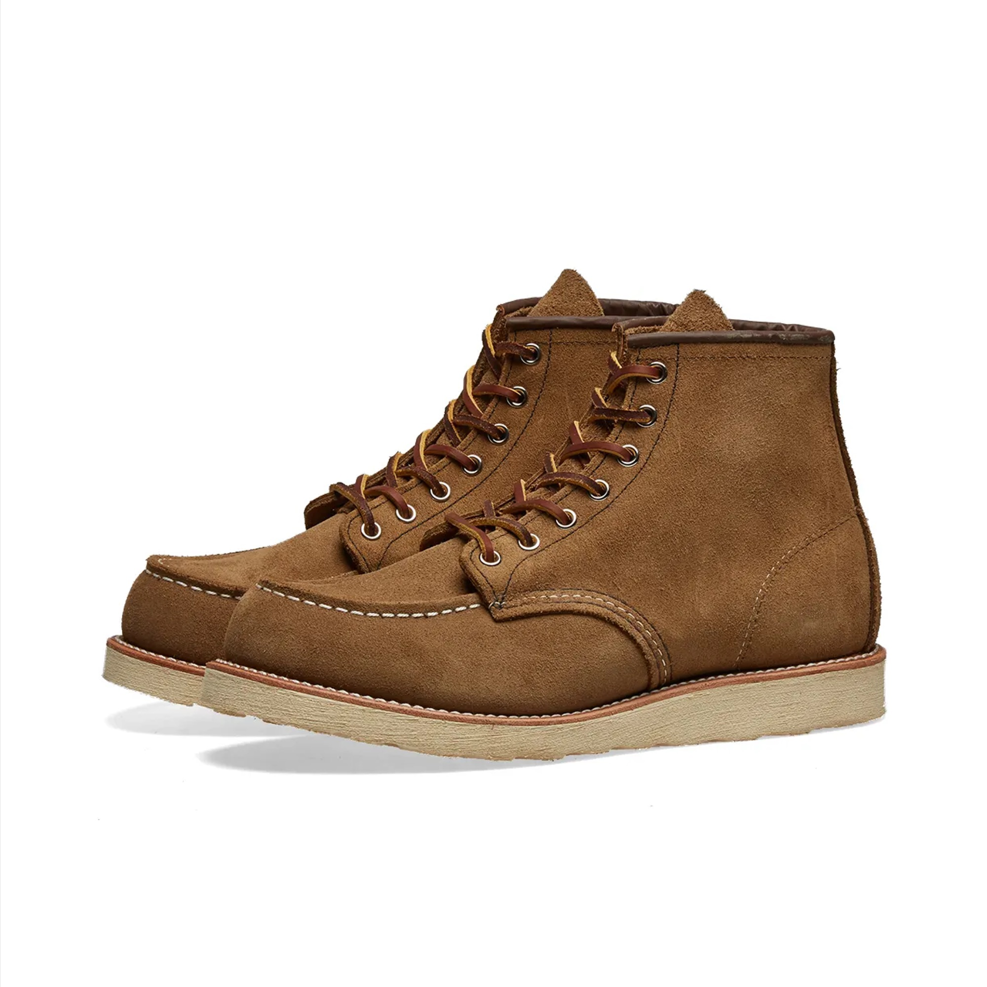 RED WING 8881 HERITAGE WORK 6 MOC TOE BOOT